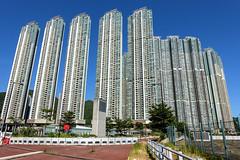 Lohas Park Residential Development, Hong Kong (globetrekimages) Tags: hongkong lohaspark buildings architecture density urban city apartment