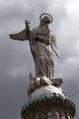 The Virgin of Quito on El Panecillo, Quito, Ecuador