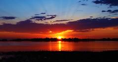 Barr Lake Sunrise (Circled Thrice) Tags: barrlake barr barrlakestatepark statepark park lake water wetland reflection sunrise sun sunlight light sky serene scenery scene beauty morning morninglight landscape brighton colorado co canon eos rebel t3i sigma