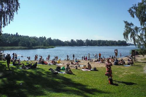 Strömsö beach