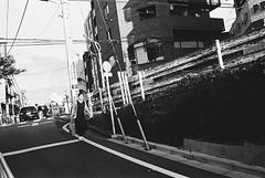 Daikanyama, Tokyo (fabiolug) Tags: woman sunset lines sidewalk architecture buildings urban daikanyama people street streetphotography tokyo japan japanese asia leicamp leica mp rangefinder film filmphotography believeinfilm blackandwhite blackwhite bw kodaktrix400 trix400 kodak trix kodaktrix leicaelmarit28mmf28asph elmarit28mmf28asph elmarit28mm leicaelmarit28mm 28mm elmarit leicaelmarit wide wideangle light