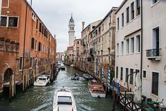 Venice - Canal View (Le Monde1) Tags: italy lemonde1 nikon d610 venice veneto unesco worldheritagesite riva calle fondamenta canals gondola republic art architecture palazzo waterway sinking