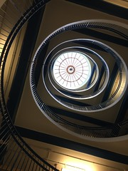 Glasgow Royal Infirmary Hospital #Staircase#spiral (frankhimself) Tags: circular hight amazing upwards spiral clinics rooms wards floors levels high hospital infirmary royal glasgow staircase staircases