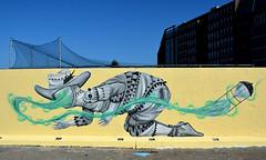 graffiti amsterdam (wojofoto) Tags: amsterdam graffiti streetart skount javaeiland nederland netherland holland wojofoto wolfgangjosten