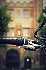 Cambridge bike handle (captainmorganme) Tags: university bicycle cycling bike cambridge college uk