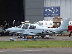 G-DRDR Cirrus SR22T (Aircaft @ Gloucestershire Airport By James) Tags: gloucestershire airport gdrdr cirrus sr22t egbj james lloyds