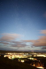 DSC00417 (henrikloxell) Tags: stersund jmtland sweden night stars moonset partly cloudy perseids frsn