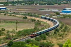 Golconda Exp. (B V Ashok) Tags: indianrailways ir guntursecunderabad gntsc golconda express 17201 scr raigir rag lalaguda lgd wap4 22226
