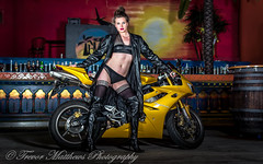 claire mc-24 (Trevor Matthews Photography) Tags: claire mcivor bike rock chick guitar motorbike suzuki daytona sexy girl hot naked nude topless trevor matthews suggestive speaker ibiza bar wigan model
