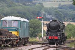 IMG_8414 (D9022) Tags: gloucesterwarwickshirerailway toddington 47376 freightliner gloucestershire 7903 d6948 37248 37215 35006 peninsular oriental sn co royal merchant navy class 4270 foremarke hall d8137 1693 d6036
