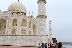 The Woman Who Looked For Love Elsewhere (Mayank Austen Soofi) Tags: delhi walla agra the woman who looked away from taj mahal