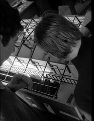 Australian Ballet, Architecture school design project R Moschell and B Brown B+W sheet 01514 (Graeme Butler) Tags: school melbourneuniversity history heritage government design culture architecture melbourne victoria australia