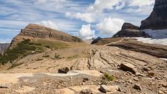 Grinnell Glacier (Robert Wash) Tags: montana mt glaciernationalpark manyglacier rockymountains grinnellglacier mountgould angelwing terminalmoraine