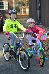 mini redneck goofball nuggets (armykat) Tags: family bikes niece nephew goofballs