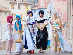 Cosplay - Mang'Azur 2015 - P1070357 (styeb) Tags: cosplay 26 magic manga convention palais xml neptune avril labyrinth azur magi mang retouche toulon 2015 mangazur