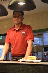 WENDY'S - NOW IN INDIA (GURGAON) (shivangireviews) Tags: food india ice restaurant blog ketchup tea quality burger delhi vlog fast best fries burgers wendys wendy gurgaon now reviews shakes in vlogger sinha shivangi shivangireviews