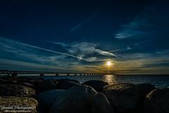 DSC_0679 (grahedphotography) Tags: bridge summer sun water denmark skne nikon sweden nikkor malm sunet resundsbron limhamn resunds
