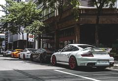 German Lineup (Justin Young Photography) Tags: slr cars philippines 911 mclaren porsche mercedesbenz lamborghini gt2 gallardo 997 gt3rs edizionetechnica