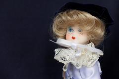 0141 - Bambolotto (Diego Rosato) Tags: stilllife doll fuji velvet porcelain x30 velluto porcellana bambolotto