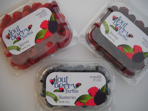 Raspberry & Boysenberry & Blueberry First Tout Berry package aa May 21, 2015