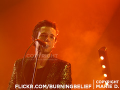 Brandon Flowers (burningbelief) Tags: uk flowers music white black london love lights still concert tour you flamingo gig brandon can cant want change killers academy effect brixton deny desired