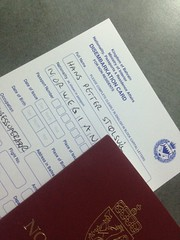 Applying for my Bahraini Visa at The airport!