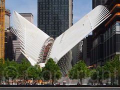 World Trade Center Transportation Hub, New York City (jag9889) Tags: nyc newyorkcity usa ny newyork unitedstates manhattan unitedstatesofamerica worldtradecenter transportation wtc cascade groundzero lowermanhattan 911memorial 2015 southpool 2wtc jag9889 20150524