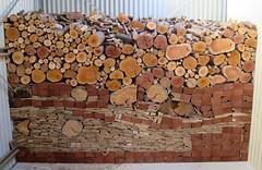 Winter Wood pile (Seb Ian) Tags: wood winter tree log logs australia victoria pile firewood fuel melton woodplie