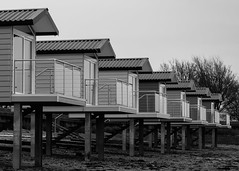 Essex Beach Huts (1) (claire.pulman) Tags: building beach architecture seaside huts coastal area blackwater essex