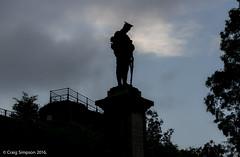 Clitheroe Castle & War Memorial. 20th July 2016. (craigdouglassimpson) Tags: england sculpture castle statues lancashire worldwari monuments memorials clitheroe warmemorials