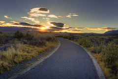 Walk Toward The Light (gpa.1001) Tags: california owensvalley easternsierras monolake monocounty sunrise hdr
