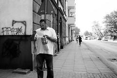 (Peter87300) Tags: nikon d5100 bw 24mm streetphotography poland
