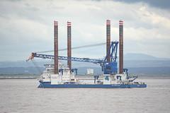 Sea Installer (Peter Owen) Tags: seainstaller crosby blundellsands wind turbine