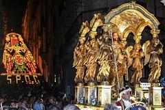 San Giacomo e la Scala illuminata - Caltagirone 25 luglio 2016 (silvio azzaro) Tags: caltagirone maiolica ceramica terracotta san giacomo patrono citta
