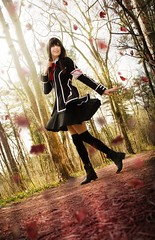 Yuki Cross (close-up) (Teme Zalachenko) Tags: yuki cross vampire knight photography cosplay photoshop lightroom light nature forest