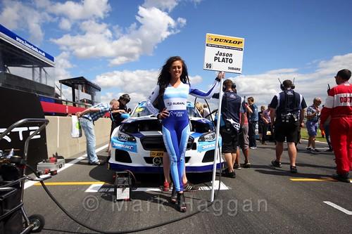 Jason Plato's car during the Grid Walks at the BTCC 2016 Weekend at Snetterton