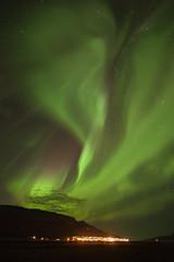 Aurora borealis in Fskrsfjrur (*Jonina*) Tags: iceland sland faskrudsfjordur fskrsfjrur auroraborealis northernlights norurljs night ntt winter vetur sky himinn longexposure jnnagurnskarsdttir september24th2014 25faves