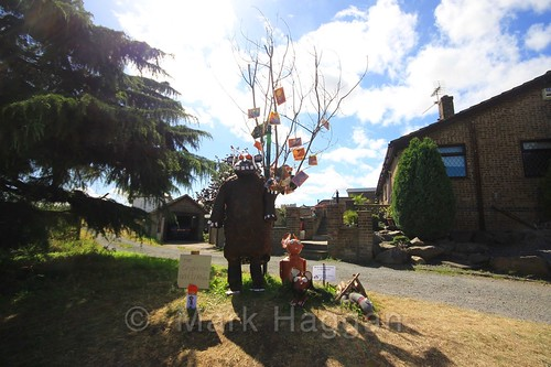 The Gruffalo and Friends at the Heather Scarecrow Festival 2016