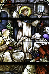 Preaching to the Heretic (Lawrence OP) Tags: stdominic dominican stainedglass nashville sisters meyers windows