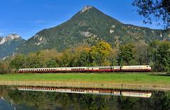 103 235 Niederaudorf (Florian Martinoff) Tags: 103 baureihe103 245 bayern reisach niederaudorf zug train photography tee herbst