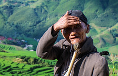 Old Hmong Man (SuperG82) Tags: vietnam sapa hmong blackhmong homestay