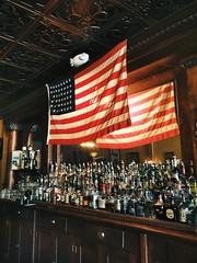 america & booze. (howard-f) Tags: bar america pub flag whiskey alcohol booze irishpub starspangledbanner iphone southpasadena vsco iphoneography vscocam griffinsofkinsale americanandbooze