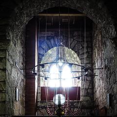 Bell tower (real ramona) Tags: light church window bells devon ropes dartmoor buckland