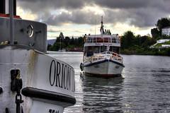 Ro Valdvia (Cristian Alczar C.) Tags: chile clouds ro river barco ship vessel shi valdivia losros nubrs