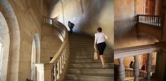 Palais de Charles Quint, Alhambra, Granada, Andalucia, Granada (claude lina) Tags: claudelina espana spain espagne andalucia andalousie granada grenade ville town alhambra palaisdecharlesquint