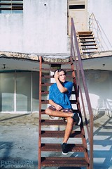 Andrea Alam (Pedreishon) Tags: alam andrea escaleras bello campo altamira caracas colores chacao color cara cabello arte azul a58 sony fotografa foto fotografas firma filtro flickr fotos facebook fotografias pedreishon profesionales photoscape pose pies pared ligthroom latinoamerica luz venezuela twitter terraza instagram iluminacin