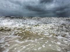 The tides OK Goa #goa #ocean #clouds #shotonaiphone #iphone6s #snapseed #rain #strom (karan667) Tags: goa ocean clouds shotonaiphone iphone6s snapseed rain strom