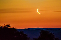 Beautiful Morning (dannie843) Tags: elements wales ceredigion mountains sunrise moonrise