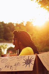 (Jordan Thompkins) Tags: summer portrait black girl smile childhood kids youth portraits fun outdoors back kid young july nostalgia portraiture nostalgic youthful chill carefree 1990s throw 90s tb childish throwback apparel tbt aesthetic girlhood tumblr