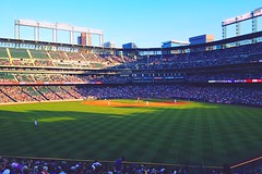 Let's Play Ball Denver! (Rockies vs. Padres, June 2013) (marklamb1996) Tags: milehighcity downtowndenver coloradobaseball devercolorado mlbballparks mlbstadium coorsfield rockiesbaseball therockies coloradorockies denver sandiegopadres